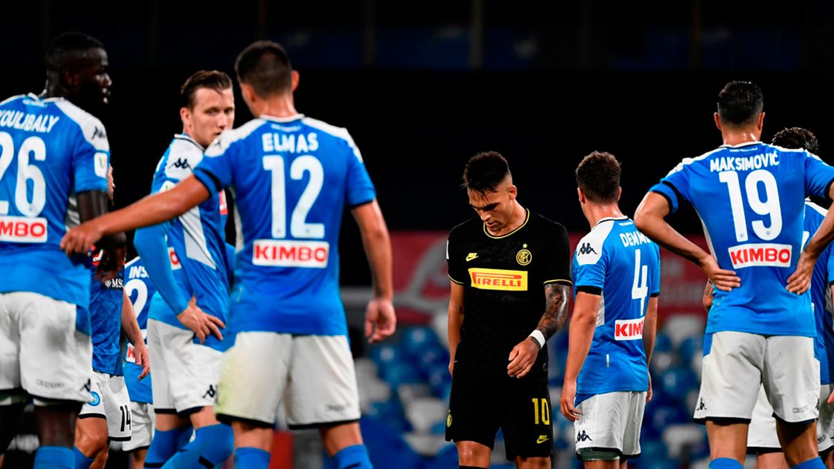 Inter lost the semi-final of the Coppa and in Italy shoot…