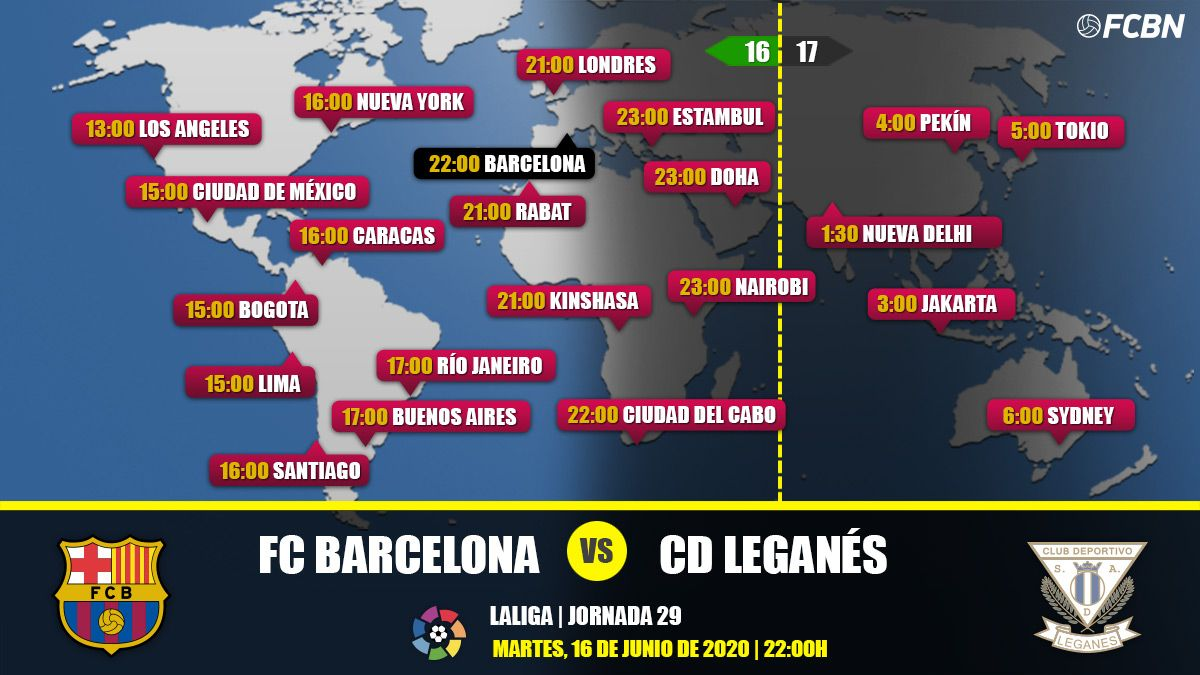 FC Barcelona vs Leganés in TV: When and where see the match