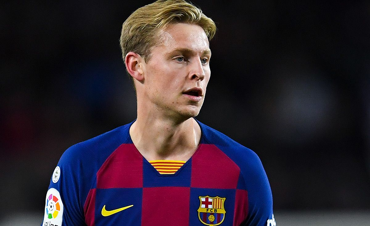 Alarm The Fc Barcelona Confirms The Injury Of Frenkie De Jong In The Sole
