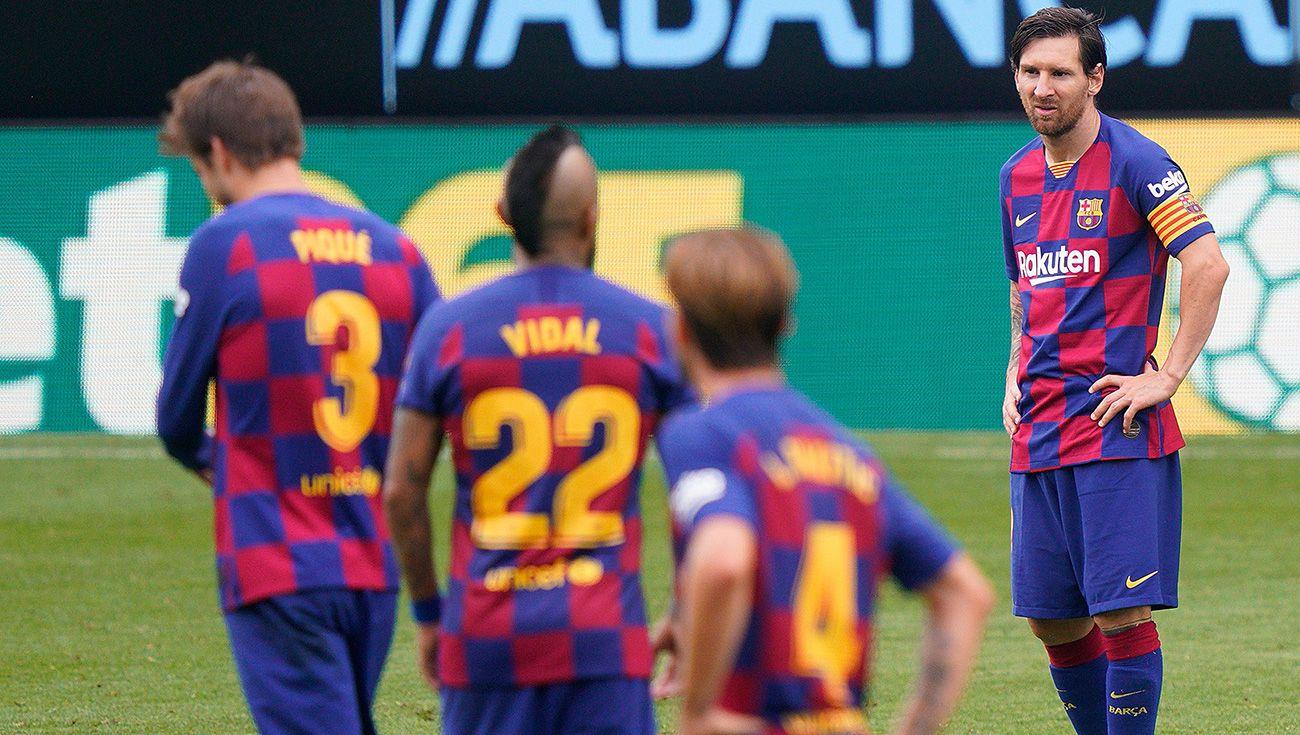 Así tiró LaLiga el FC Barcelona en 10 jornadas