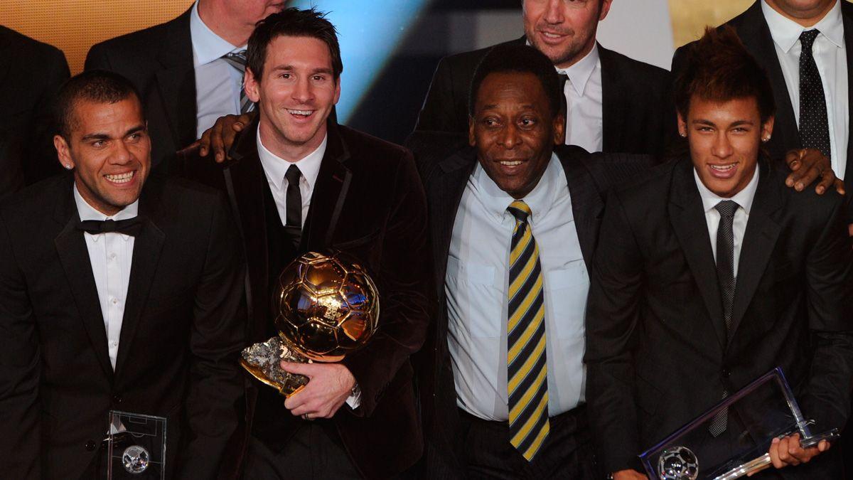 Pelé se deshace en elogios hacia Messi por su gol 700