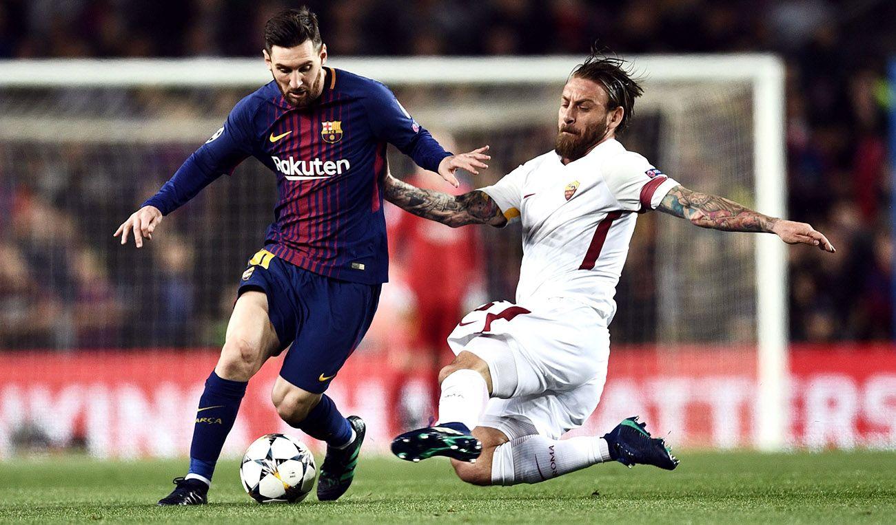 """De Rossi contro gli argentini: """"Come possono insultare Messi"""