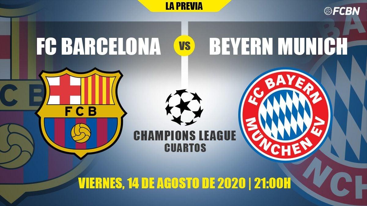 Todo Lo Que Necesitas Saber Del Barca Bayern De Champions