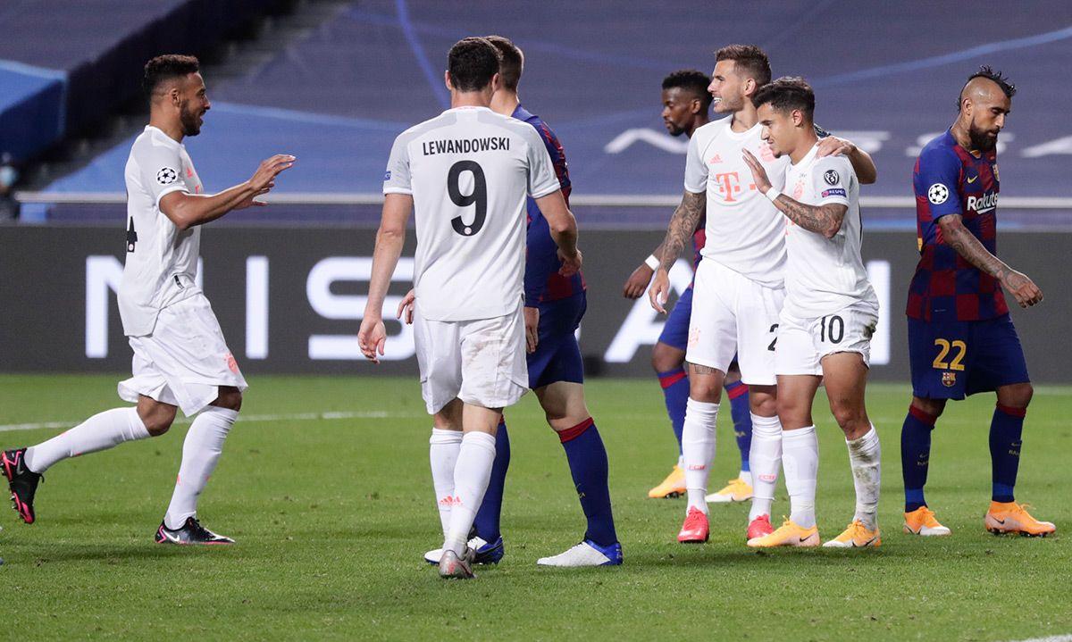 RIDÍCULO: El 'repudiado' Coutinho marcó dos goles y dio u...