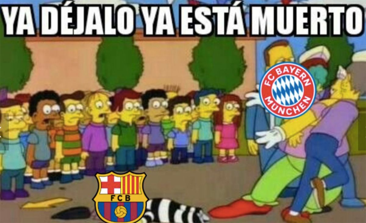 Avalanche Of Memes In The Social Media After The Disaster Of The Barca Bayern