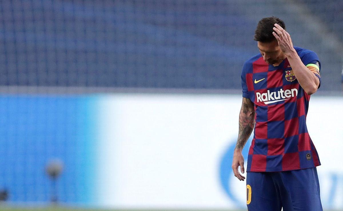GUERRA: La respuesta del FC Barcelona a Messi tras pedir...