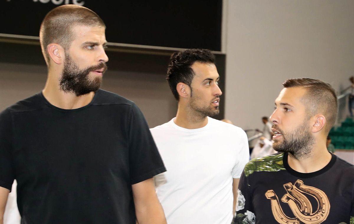 The condition of FC Barcelona to Piqué, Busquets, Alba and Sergi Roberto to continue