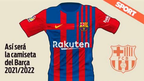 design of madness they reveal the kit of the fc barcelona in the 2021 22 kit of the fc barcelona in the 2021 22
