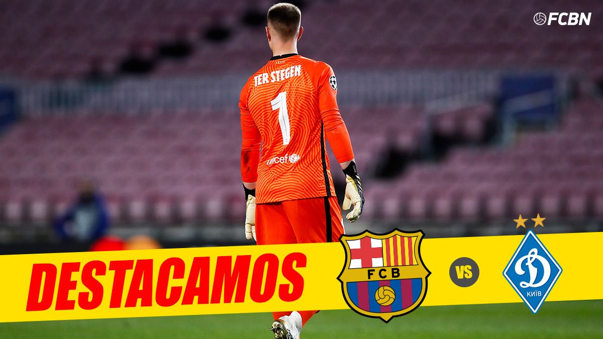 three months without playing spectacular performance of ter stegen to save the barca ter stegen