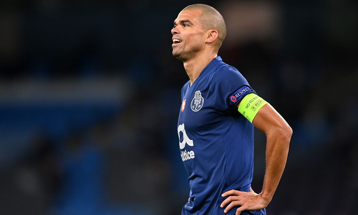 Pepe battles against the injuries: The end of his career, near