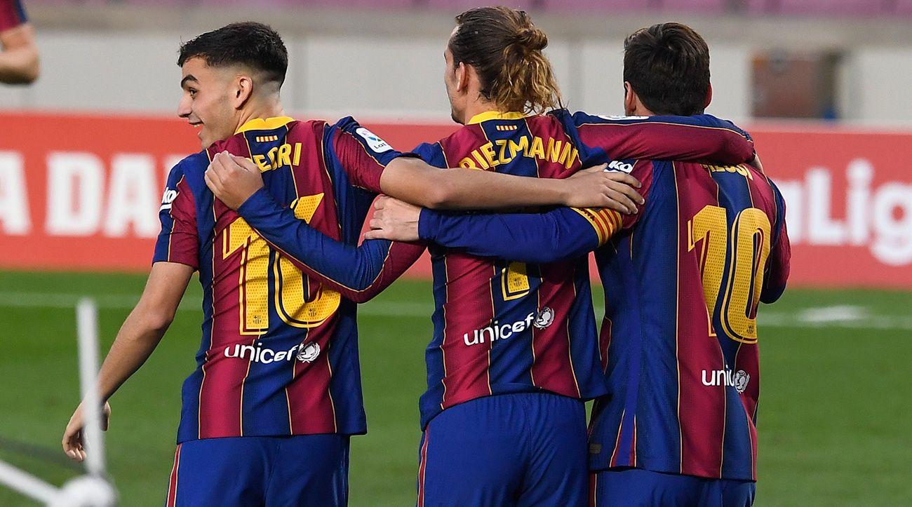 Messi encuentra en Pedri a su mejor socio en este Barça