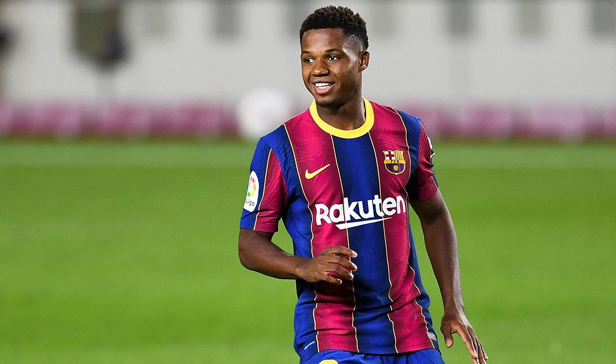 New date for the turn of Ansu Fati with the Barça