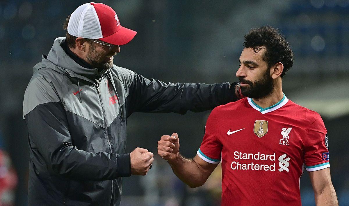 Jürgen Klopp rompe el sueño de ver a Salah en el Barcelona