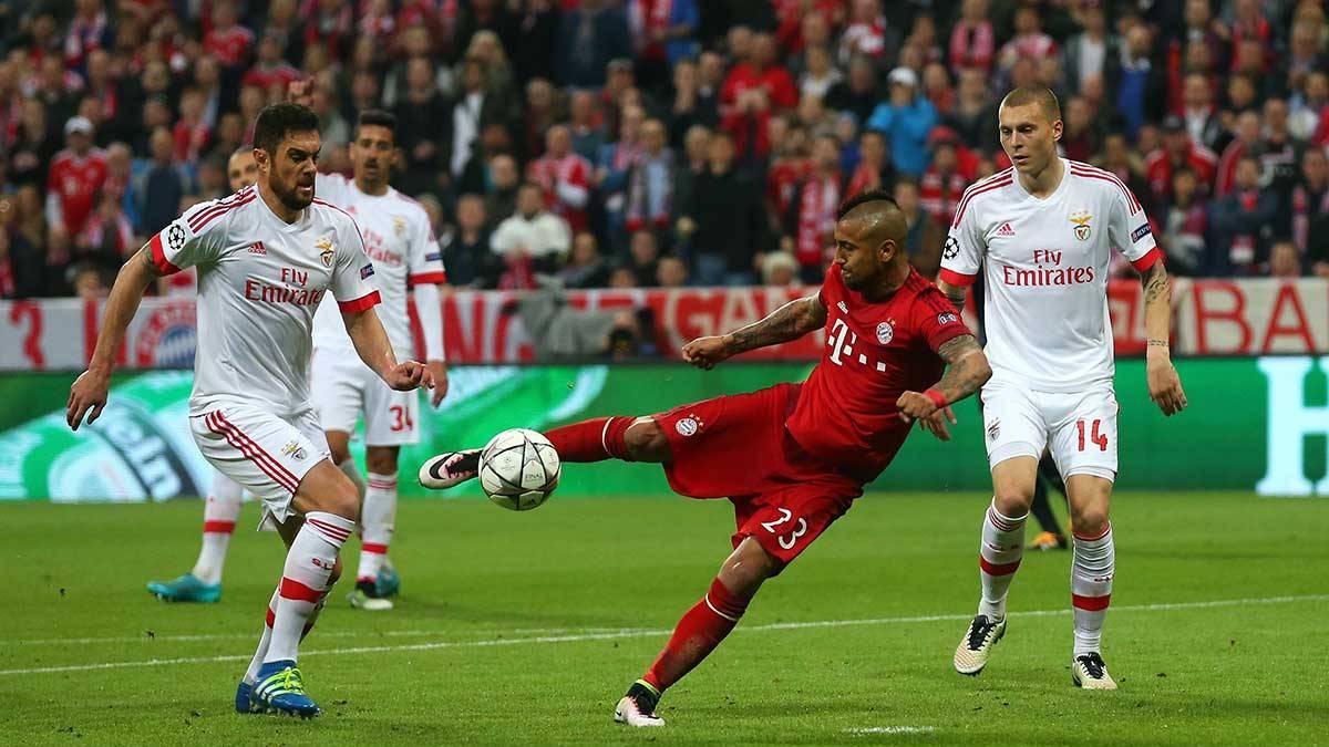 El Bayern de Munich dejó con vida al Benfica (1-0)