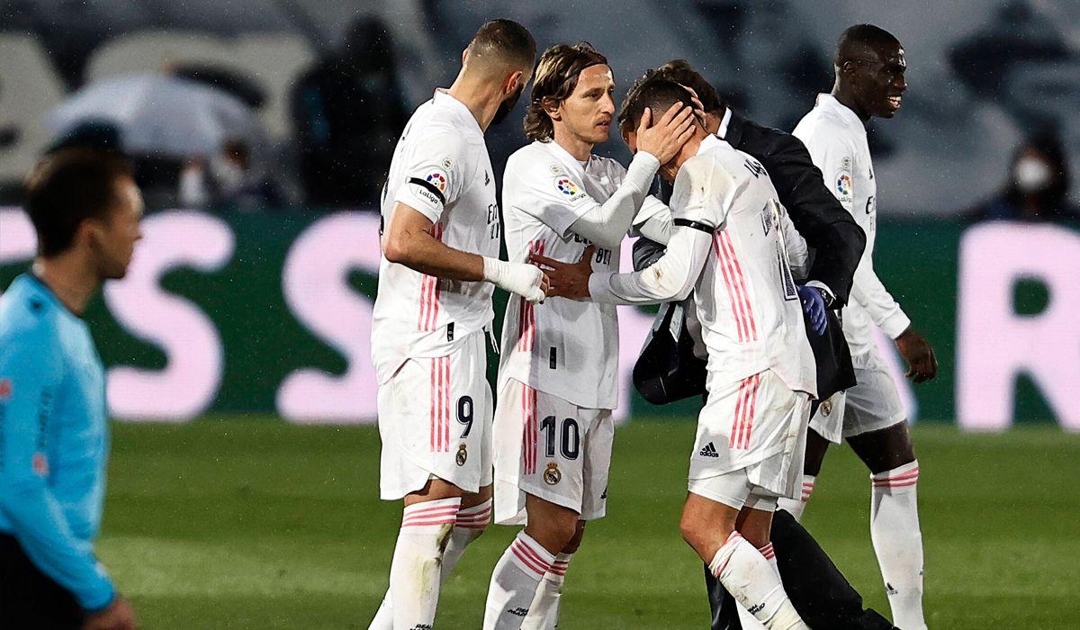 El Madrid pierde a un jugador clave para el final de temporada