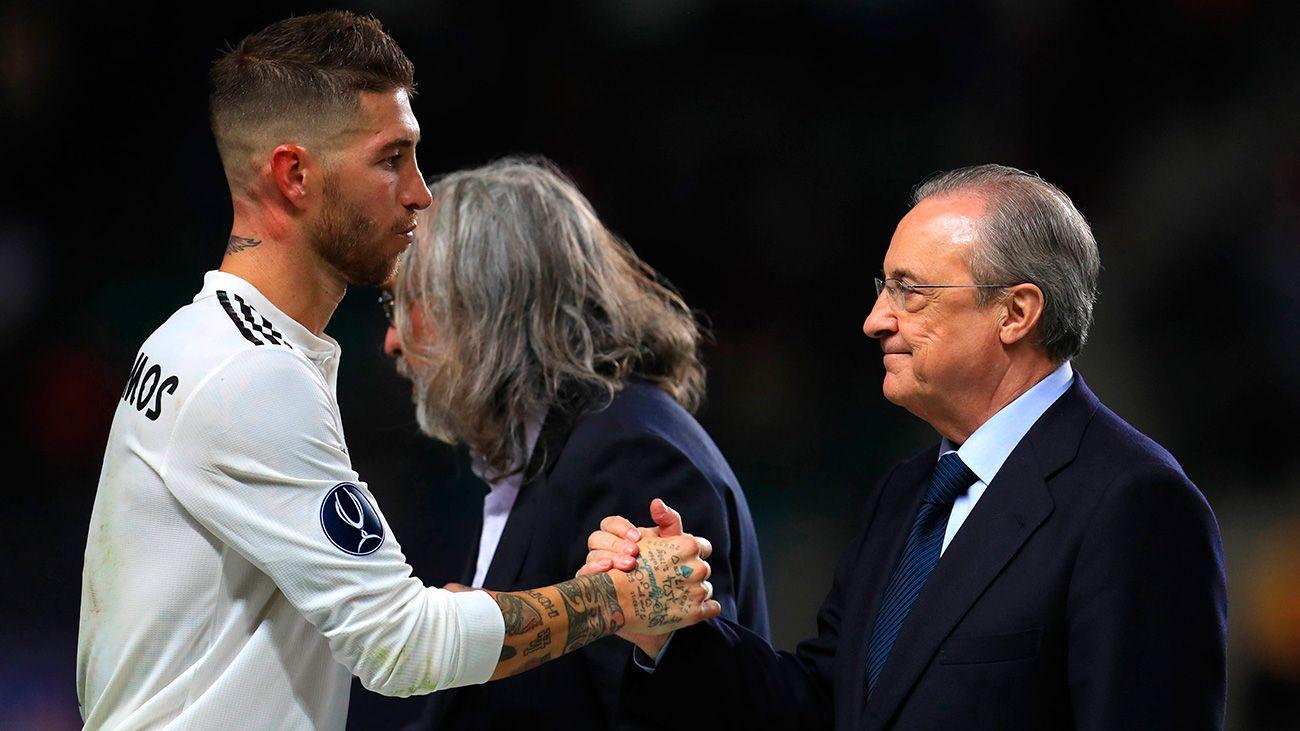 Florentino volvió a demostrar con Ramos que nadie está po...