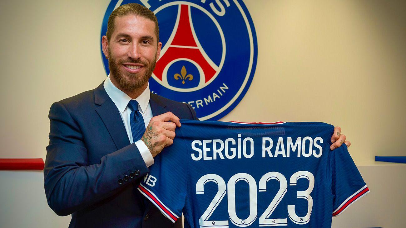 La razón por la que el PSG está descontento con Sergio Ramos
