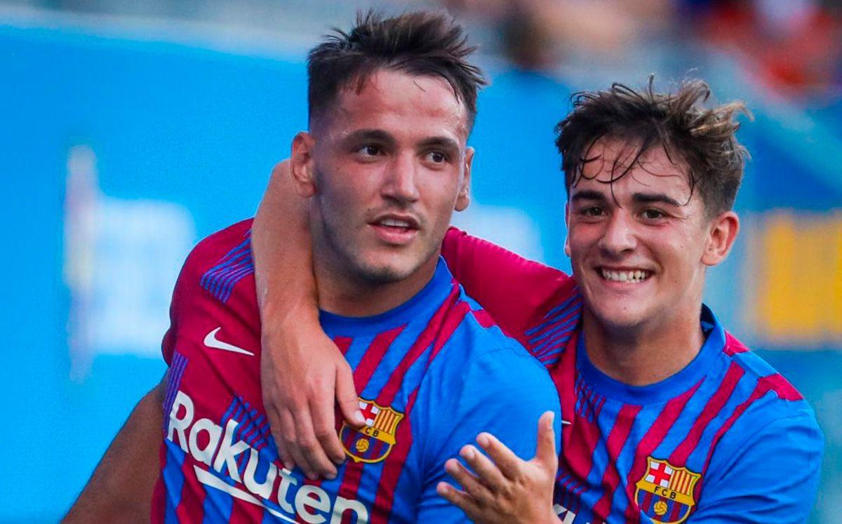 Rey Manaj's hat-trick to decide Barça's first friendly (4-0)