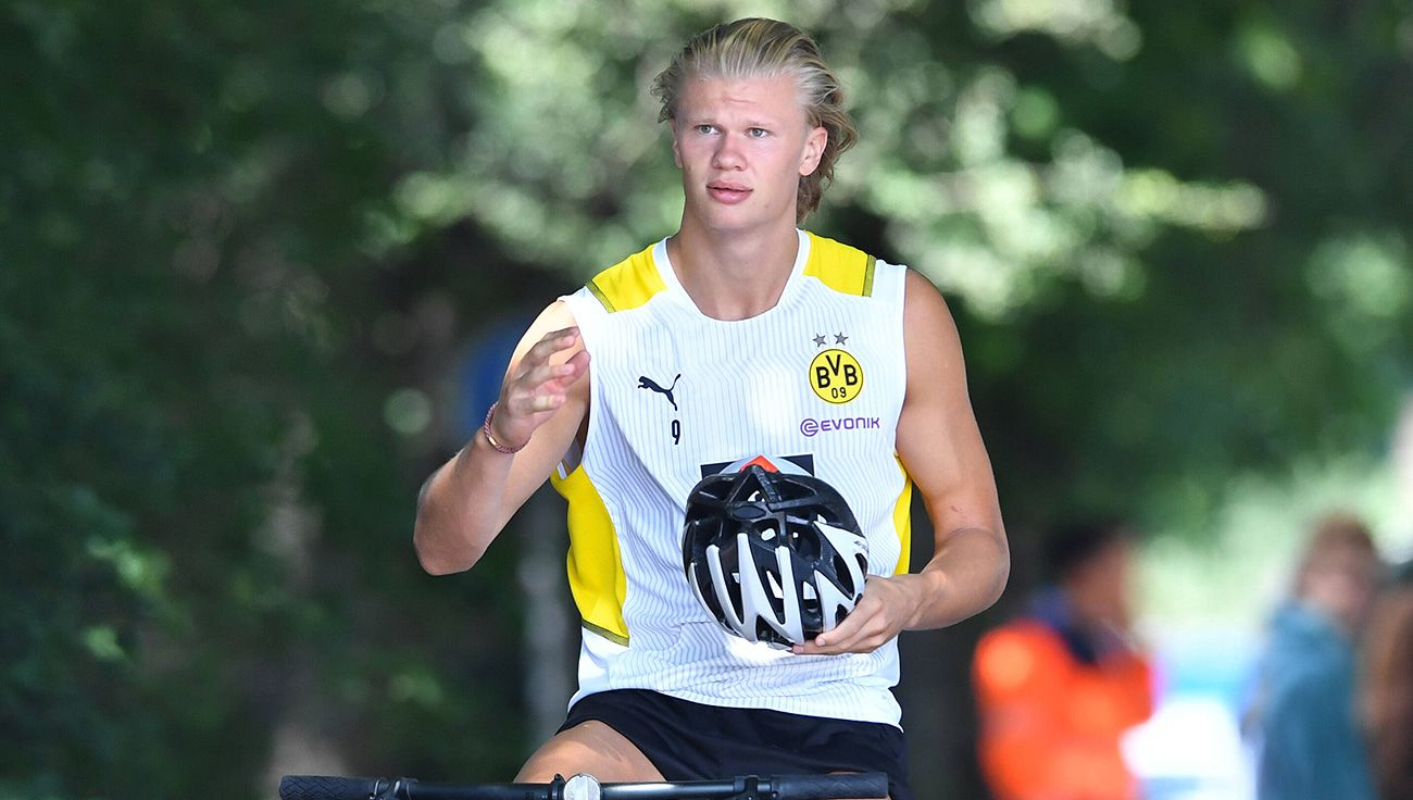 """Haaland pronounces on his future: """"I still have 3 years of contract"""""""