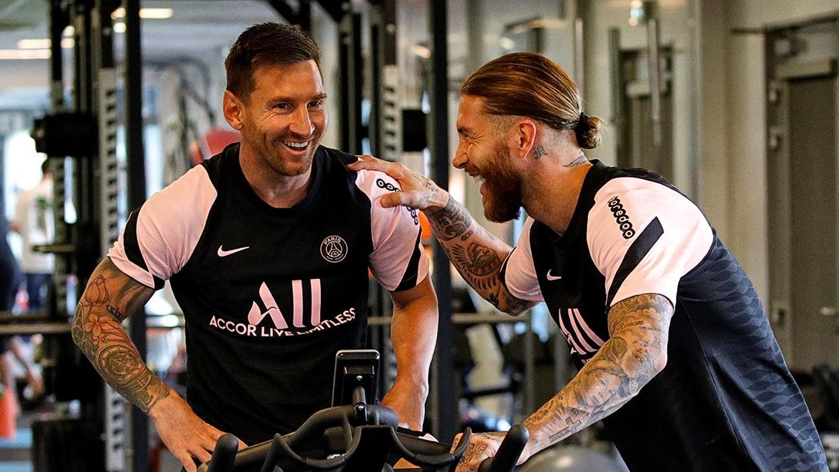 From enemies to teammates: This has been the reunion between Messi and Ramos