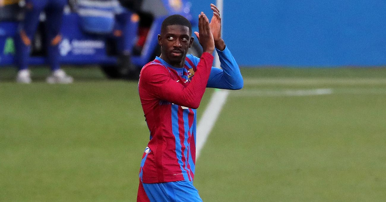 Braking' with Dembélé: He did not play against Cornellà and continues his  set-up