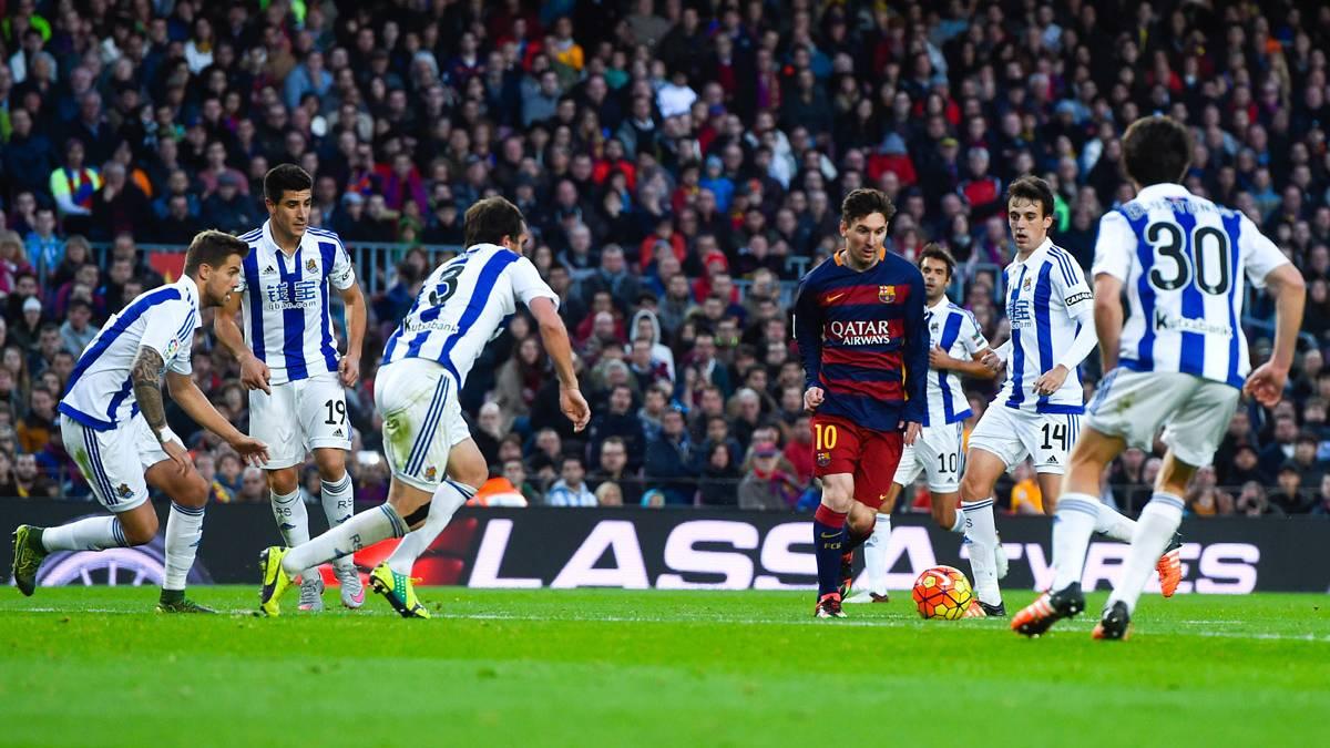 Las posibles alineaciones del Real Sociedad-FC Barcelona ...