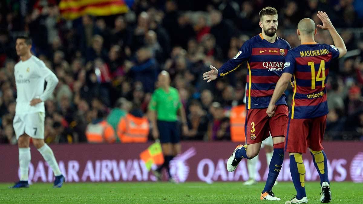 <p>El Bar�a sigue teniendo a Atl�tico de Madrid y Real Madrid a dos partidos</p>