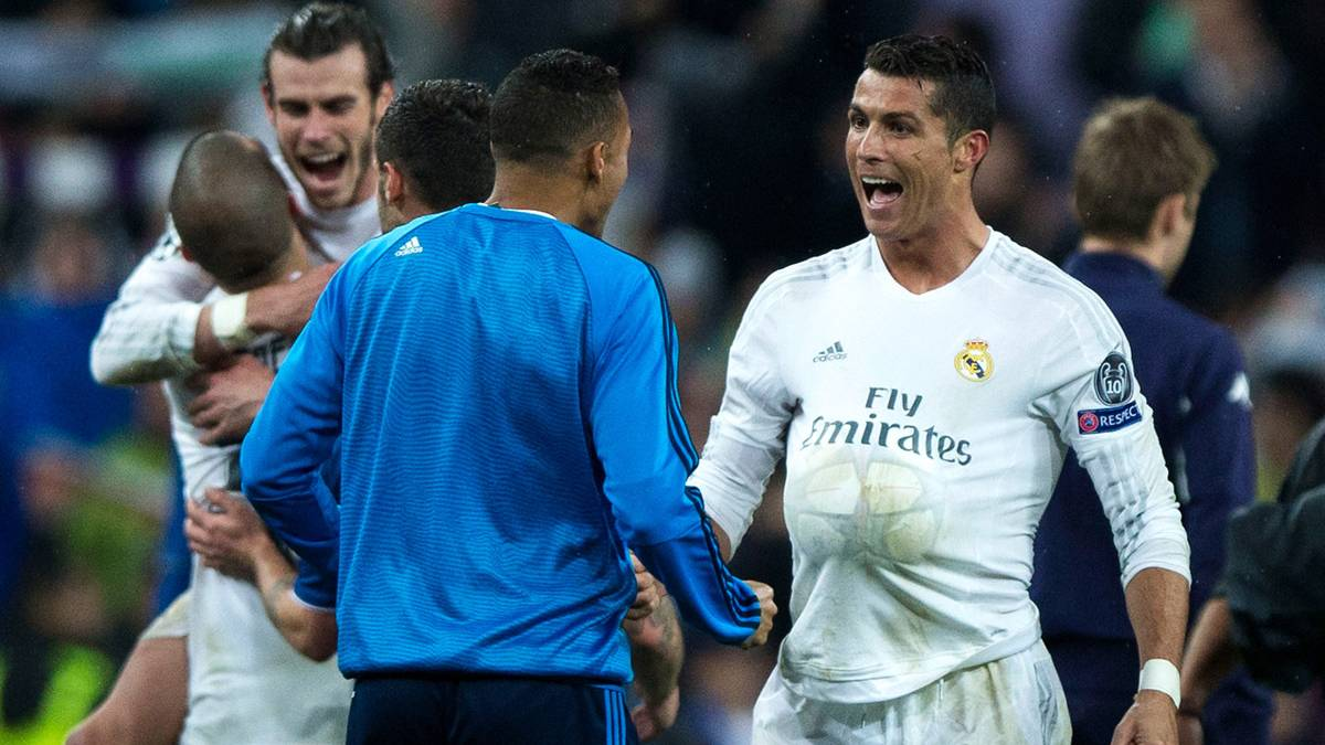 """Cristiano Ronaldo """"vaciló"""" a la prensa tras el """"hat-trick"""""""