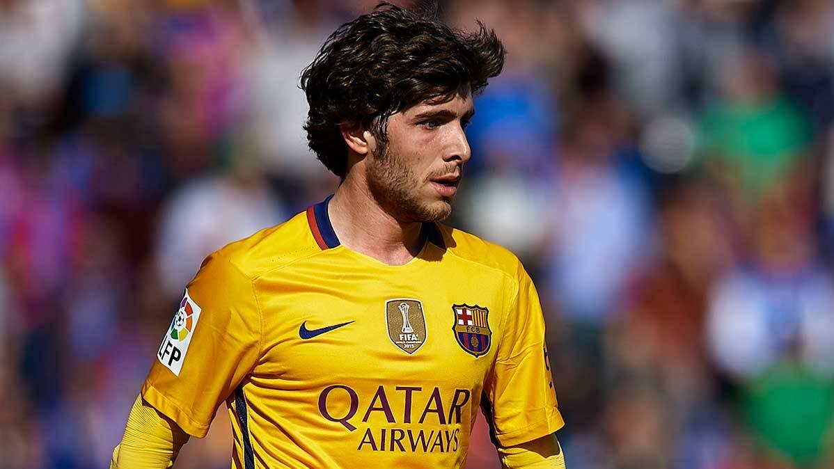 Sergi Roberto cumple cien encuentros con el FC Barcelona