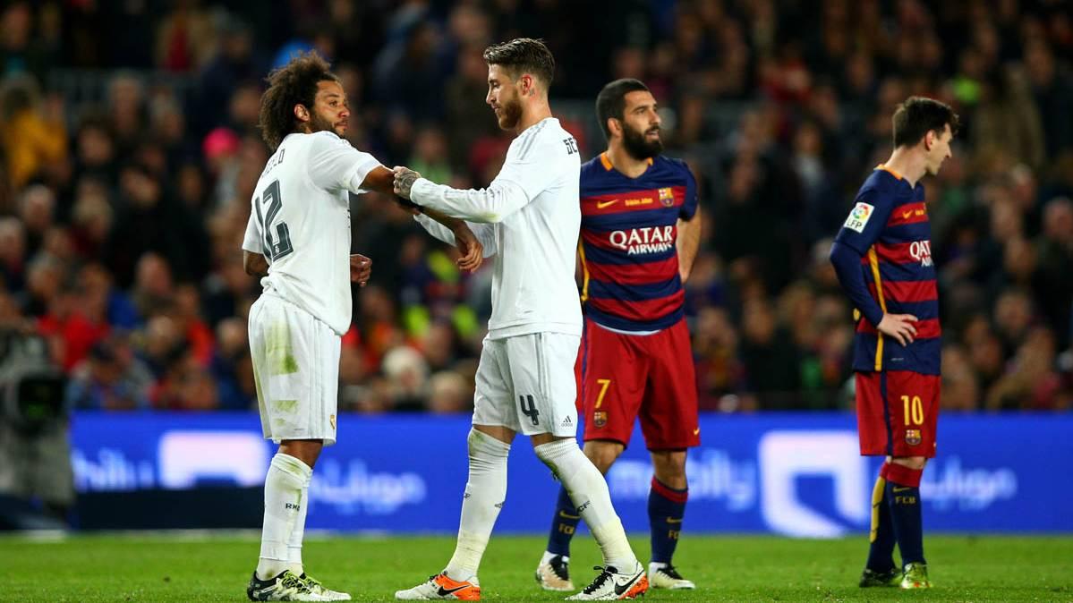 """Ramos, en el entreno del Madrid: """"Vuelve el cag�metro"""""""