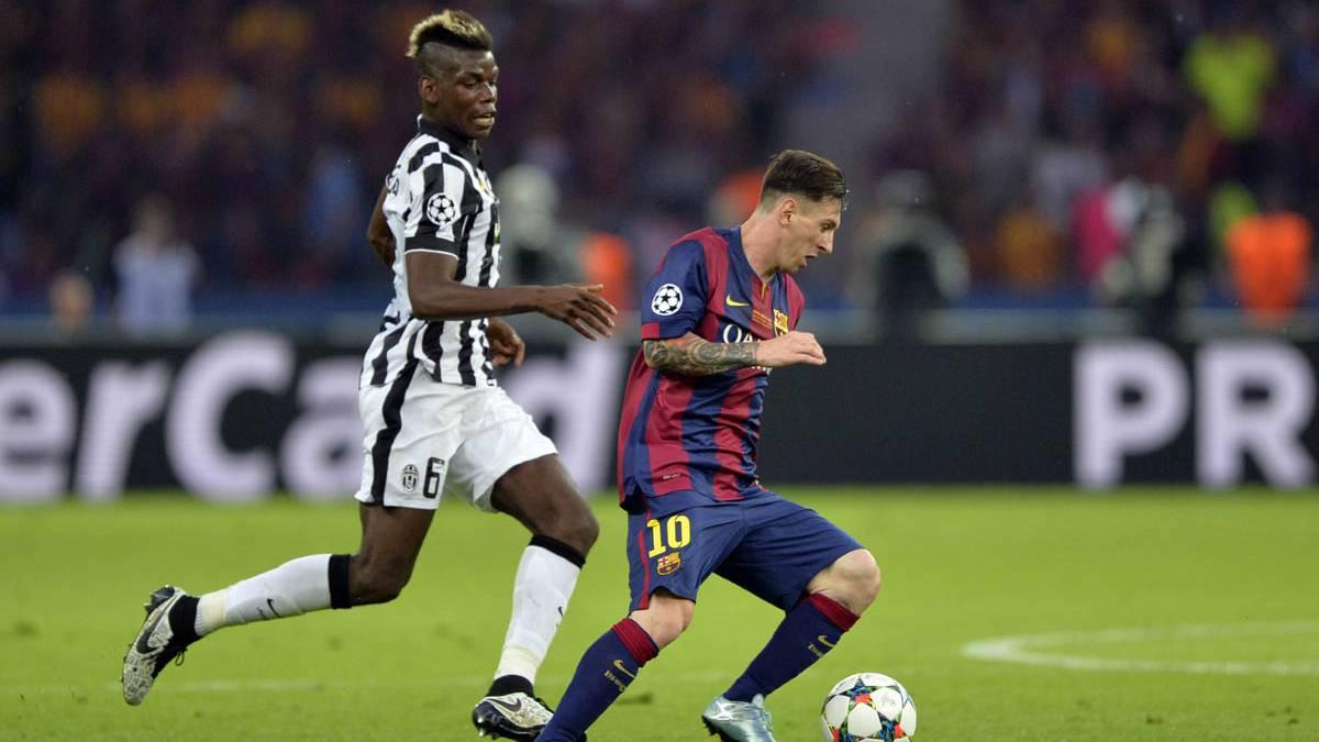 El d�a que Pogba le dijo a Messi que quer�a fichar por el Bar�a