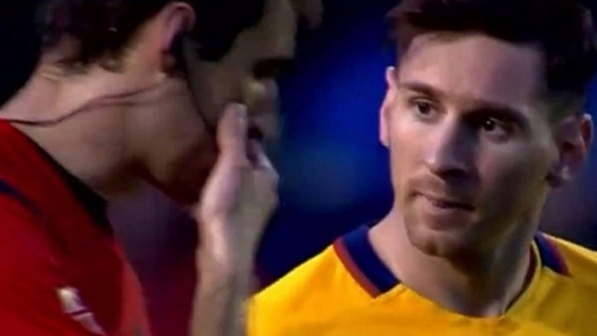 El gran misterio de las palabras del �rbitro a Leo Messi