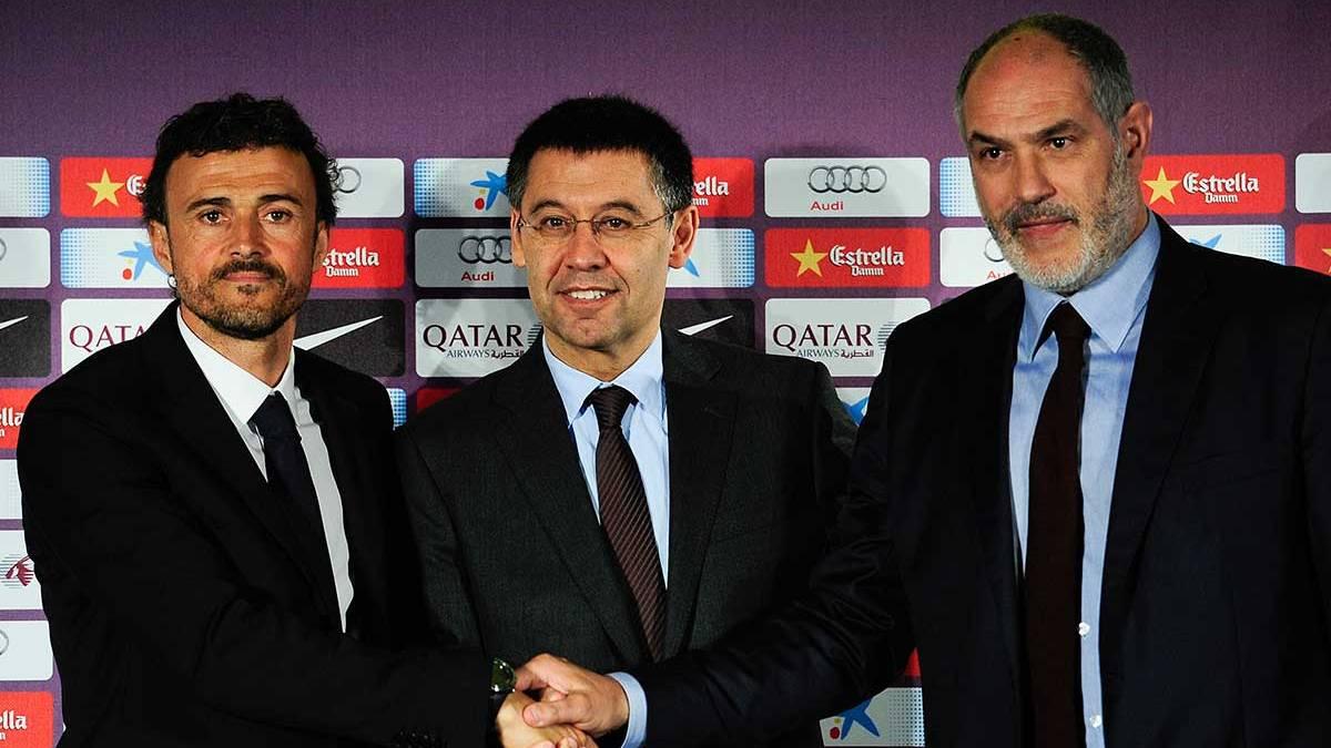 Zubizarreta da las claves de porque el Barça fichó a Luis Enrique