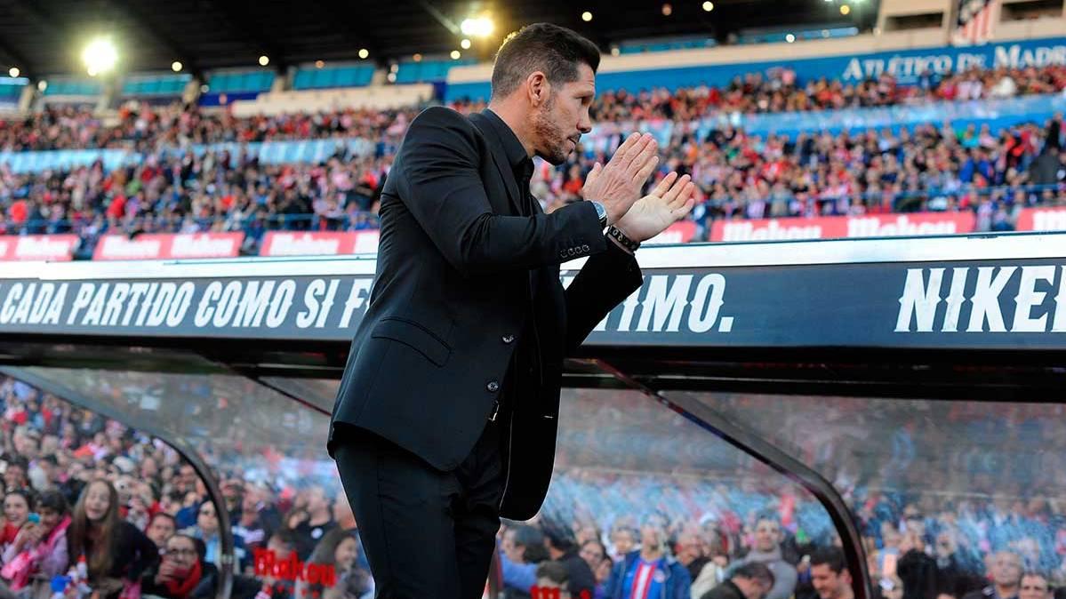 """Simeone contesta a Ramos: """"Yo no busco excusas"""""""