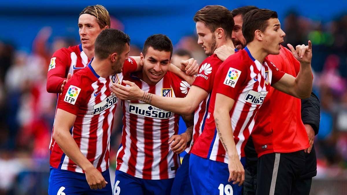 El Atl�tico se aferra a la Liga con un gol de Correa al M�laga (1-0)