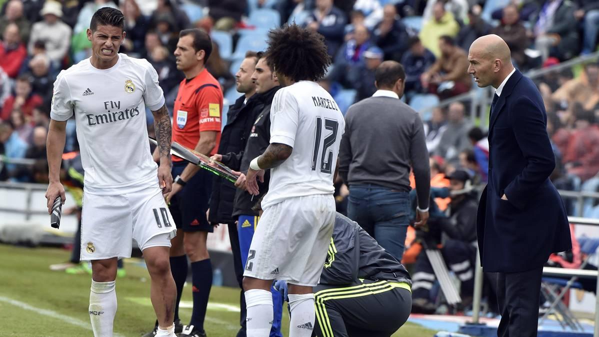 Zidane da la clave sobre el futuro de James Rodr�guez