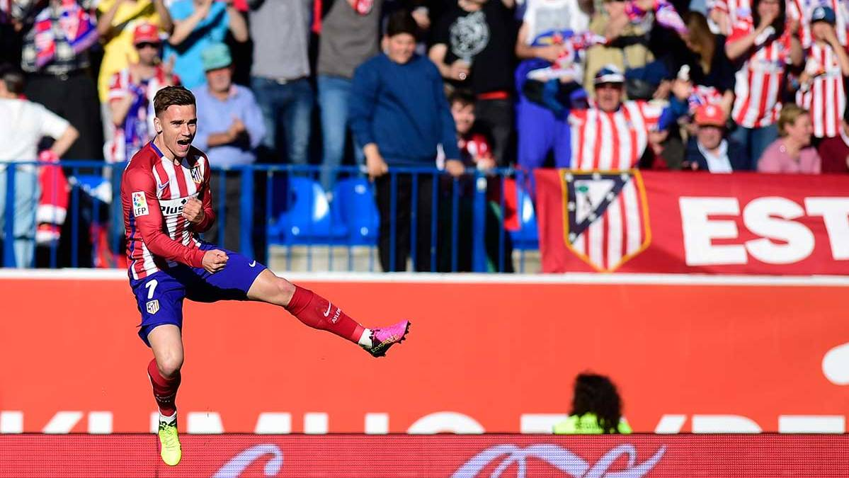 El Atlético se aferra al clavo ardiendo de Griezmann ante el Rayo (1-0)