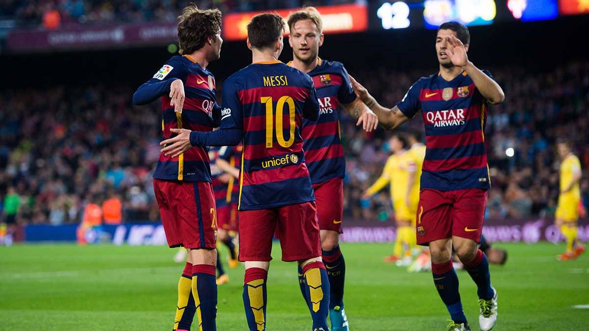 Los jugadores del FC Barcelona pueden ganar la Liga BBVA en el Camp Nou la pr�xima jornada