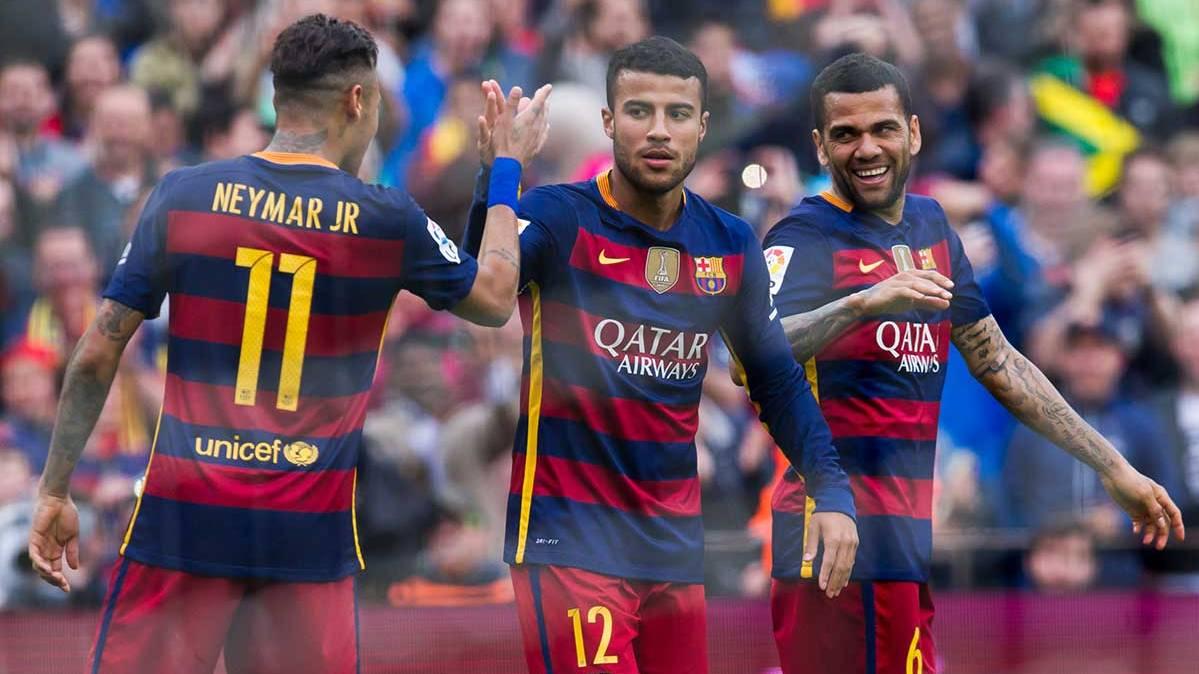 Lo que pens� Rafinha Alc�ntara tras marcar al Espanyol