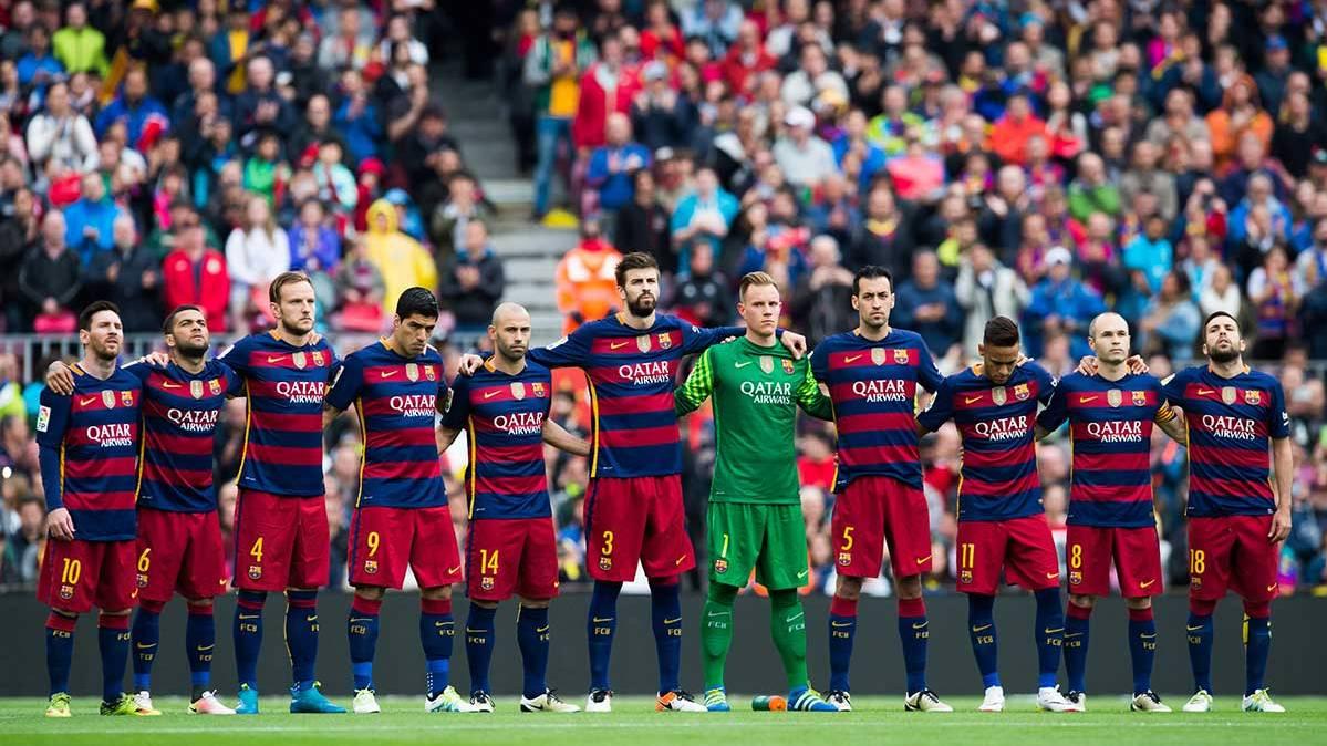 """El Camp Nou respondi� con r�cord de asistentes en un derbi a la """"final"""""""