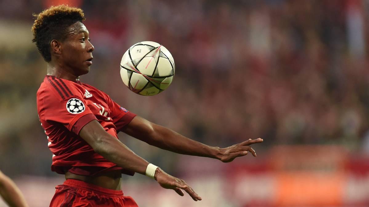 David Alaba quer�a jugar de centrocampista en el Bar�a