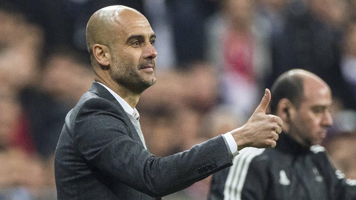 "Guardiola: ""No vine para cambiar la idea del f�tbol alem�n"""