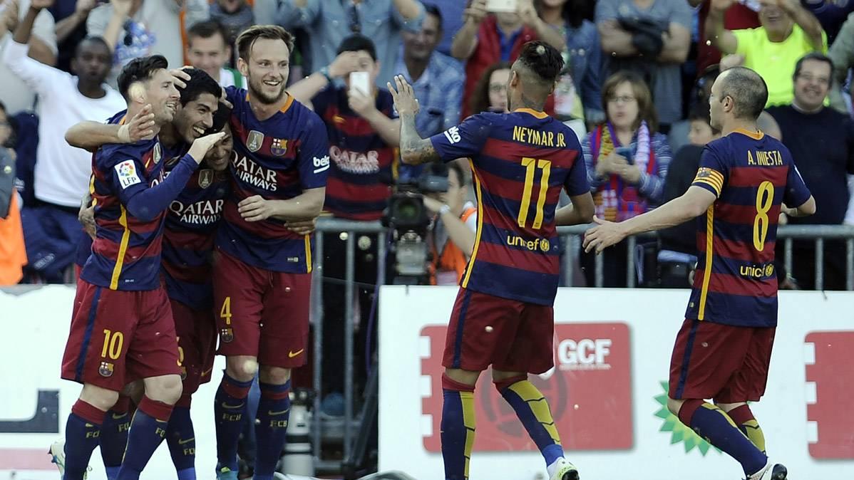 """�Campeones! """"Hat-trick"""" de Su�rez para conquistar la Liga (0-3)"""