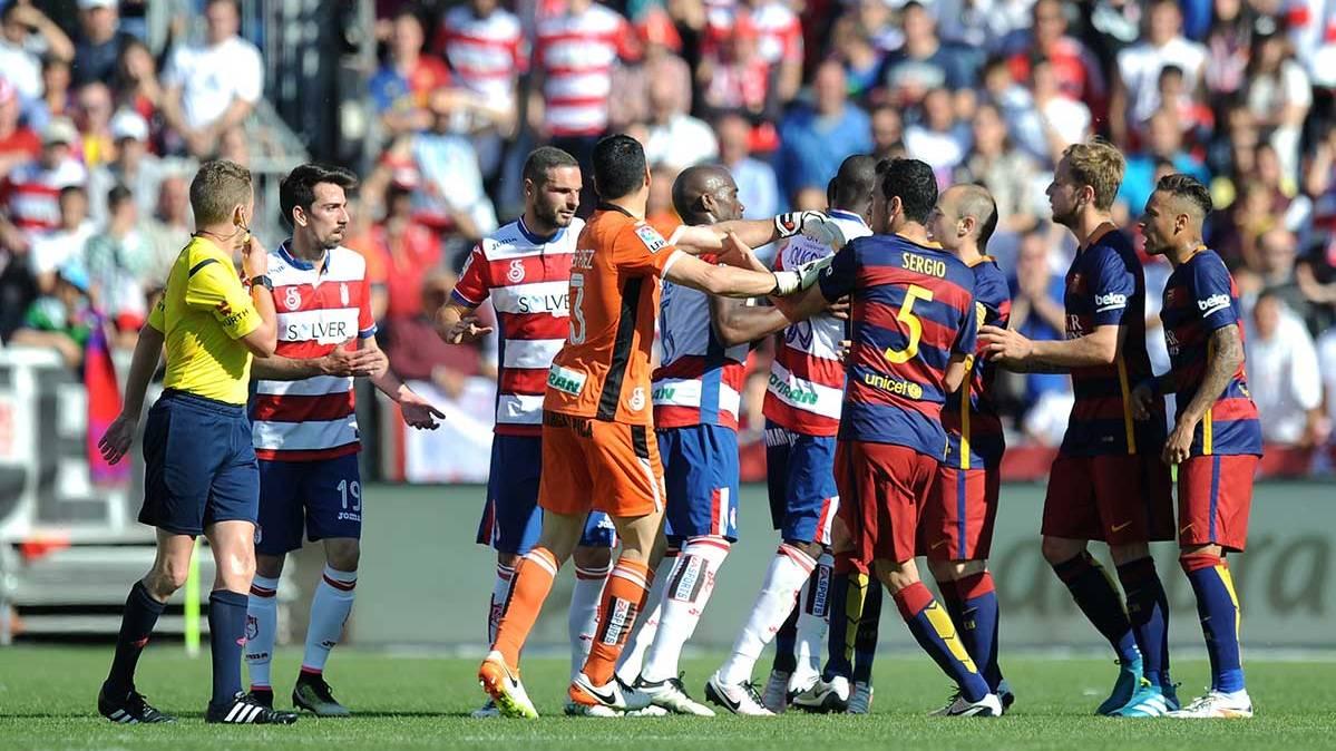 As� celebrar�a Cuenca el gol si le marca al Bar�a