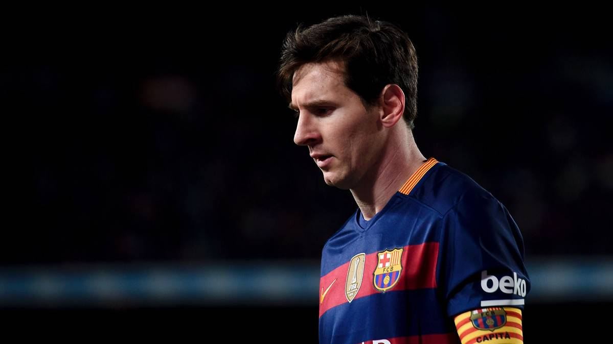 "Una indisposici�n dej� a Leo Messi sin fiesta del ""doblete"""