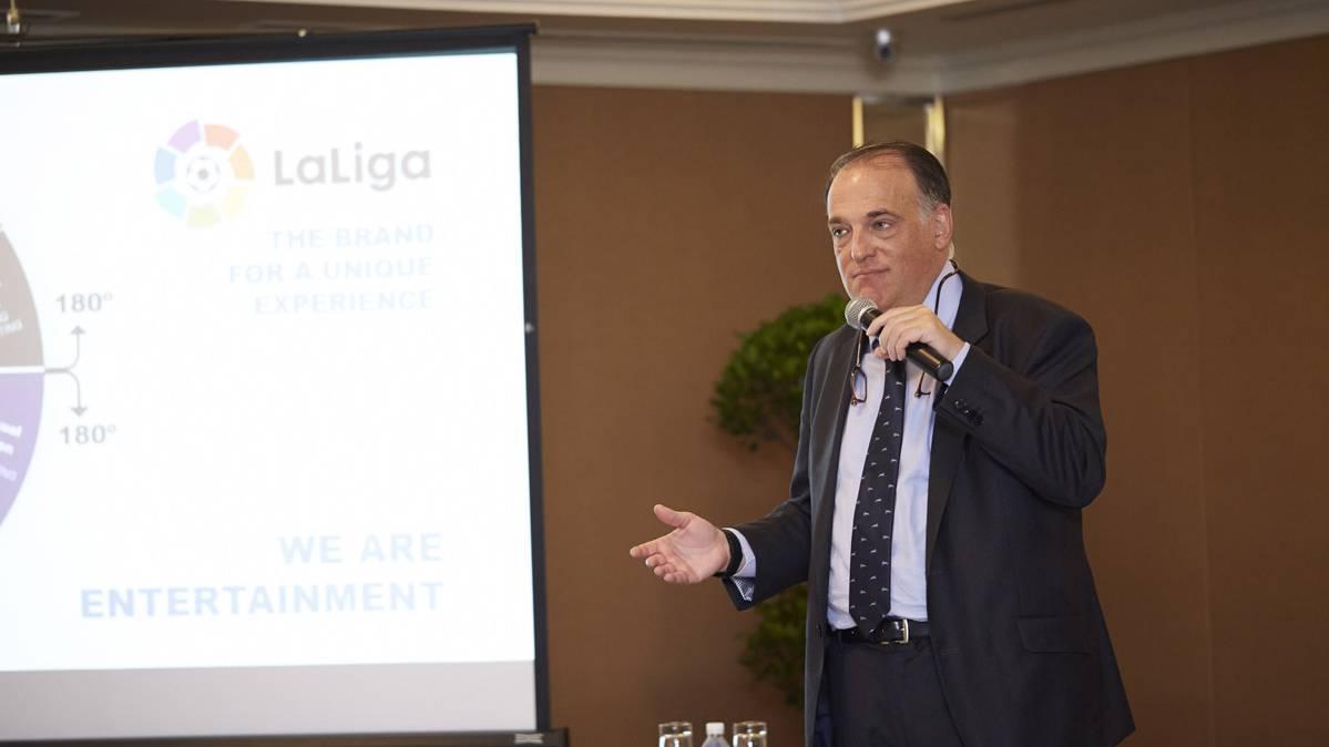 El FC Barcelona deja plantado al presidente de la Liga BBVA