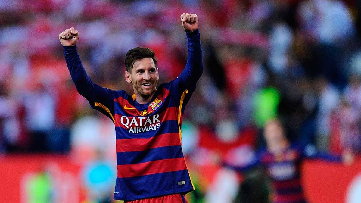 Leo Messi tuvo un mensaje para toda la afici�n del Bar�a