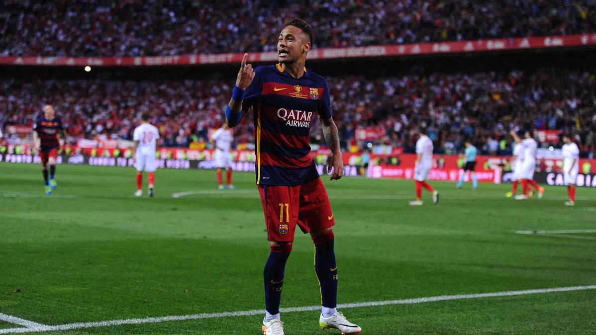 El mensaje de Neymar a la afici�n del Bar�a tras el gol en Copa