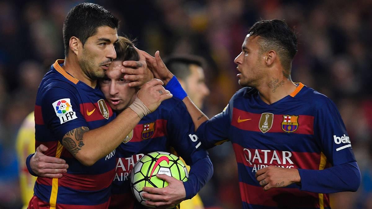 """Neymar niega la heroicidad de la """"MSN"""" del FC Barcelona"""