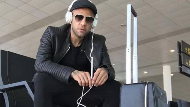 El enigm�tico mensaje de Alves desde el aeropuerto